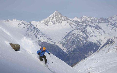 Skifahren bis zur Haustüre